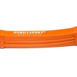 Латексная петля для фитнеса 2080 (13 мм) оранжевая 3-16 кг