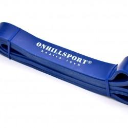 Латексная петля для фитнеса 2080 (29 мм) синяя 14-38 кг