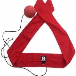 Мяч для бокса Fight Ball fighter тренажер универсальный (с красной повязкой)