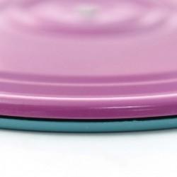 Диск Здоровье / Грация металлический фиолетово-бирюзовый