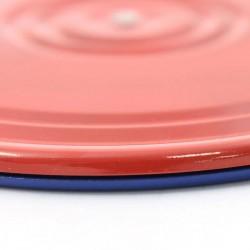 Диск Здоровье / Грация металлический красно-синий