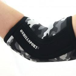 Налокотники компрессионные 5 мм для тяжелой атлетики, 2 шт