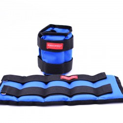 Утяжелители из дроби для рук и ног 2х3 кг, фиксированный вес