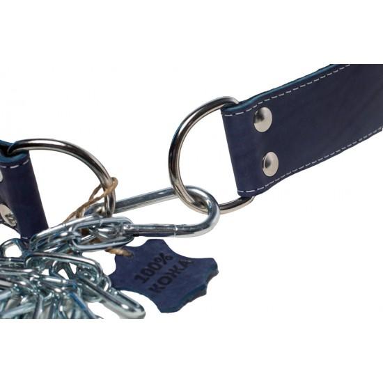 Пояс кожаный с цепью (лифтерский) 85 см